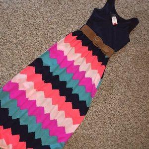 Chevron Dress NWT